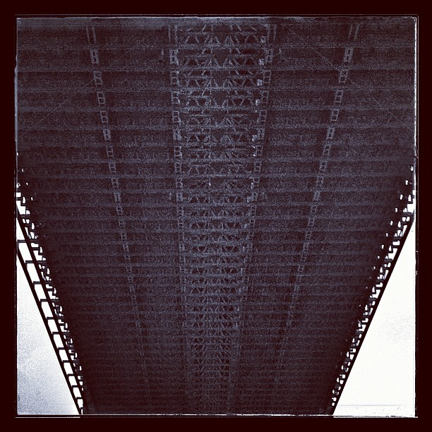 * Underneath the Brooklyn Bridge
