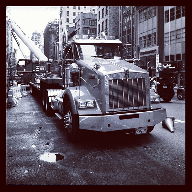 Truck, Manhattan, NYC
